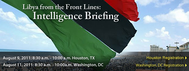 Libya from the Front Lines: Intelligence Briefing