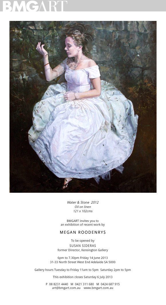 Megan Roodenrys- exhibition of recent work @ BMG Art | Adelaide | South Australia | Australia